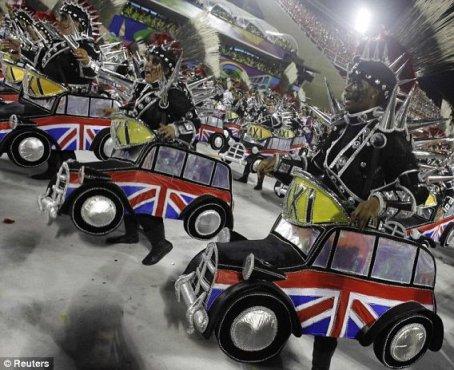 Carnaval 2012 - London Theme