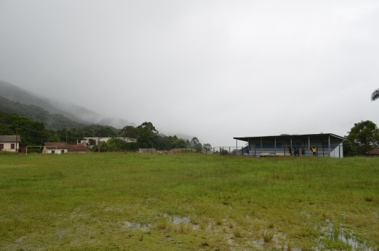 Pitch in Piranapiacaba (where the fist game of football was played in Brazil - inlcuding Charles Miler).