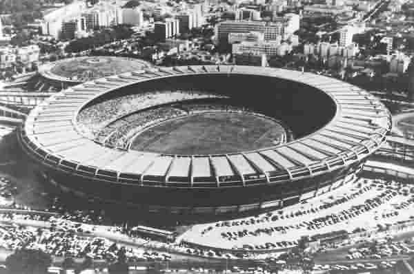 The Maracanã in 1950