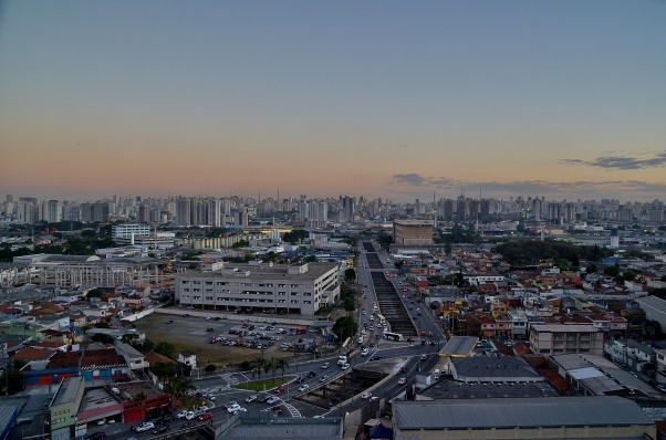 São Paulo: Epic views, not much shrubbery.