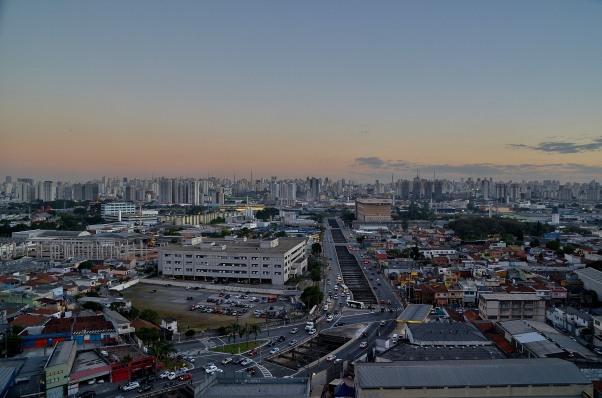 São Paulo: Epic views, not much shrubbery.