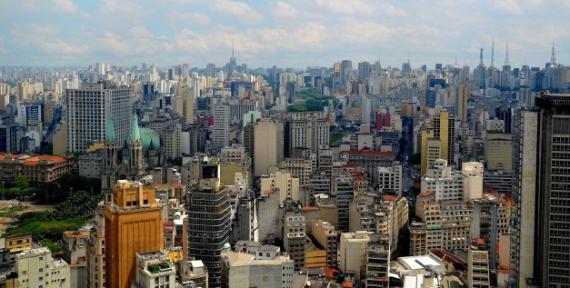 View of Downtown Sampa from Banespa Building