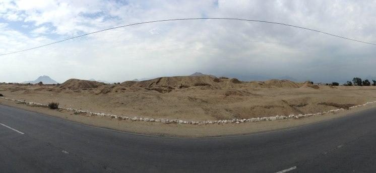 Ruins or dunes?